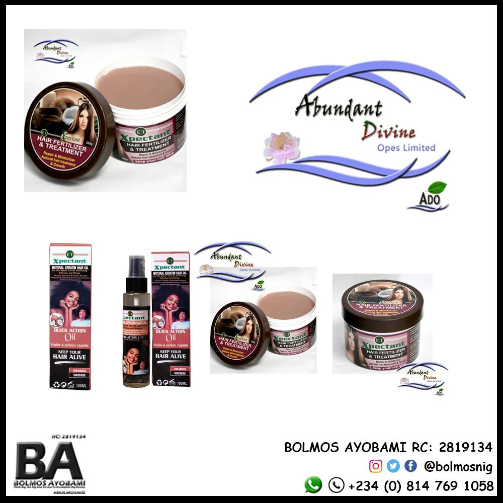 Abundant Divine Opes Ltd Logo and Products Designs
