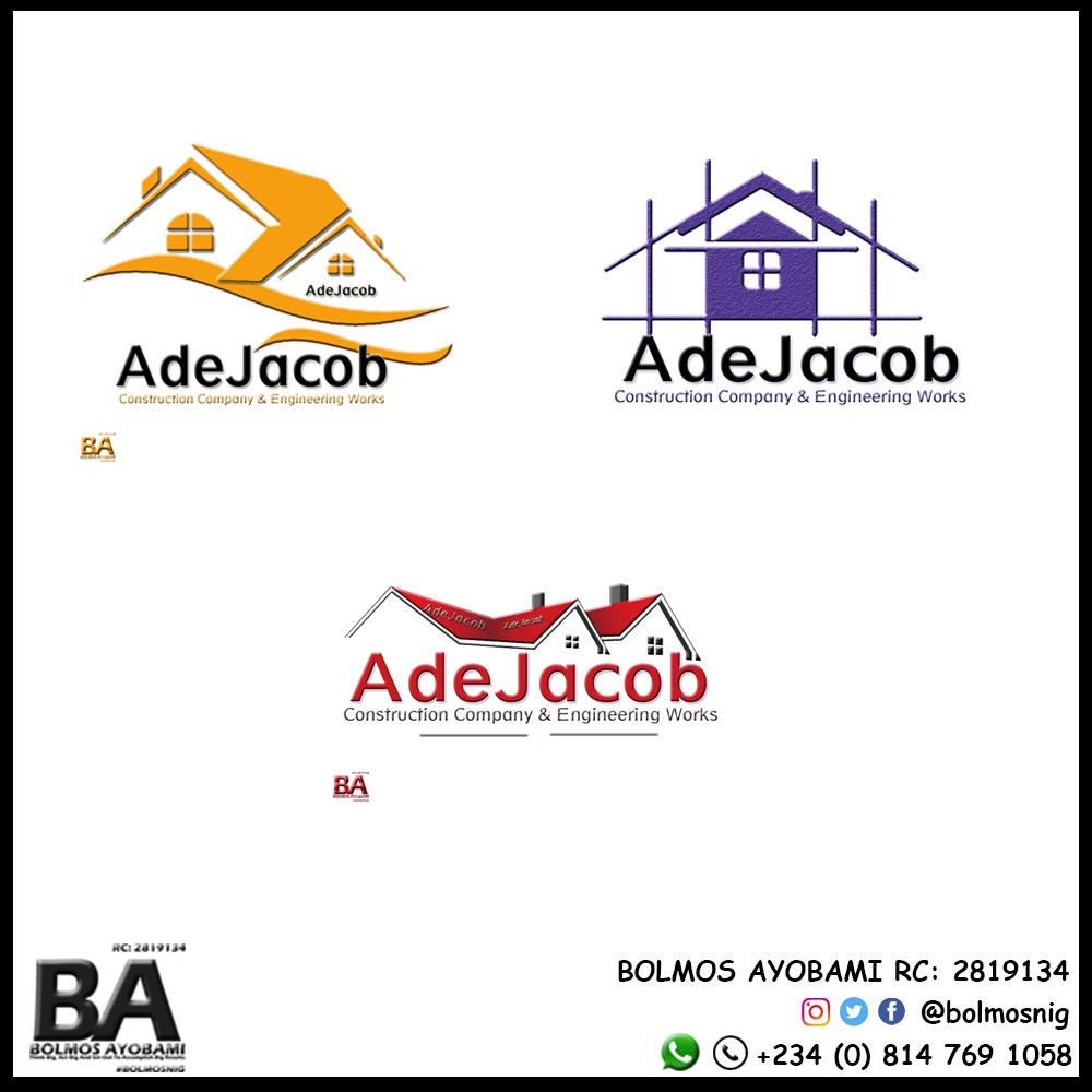 AdeJacob Logo Desgin