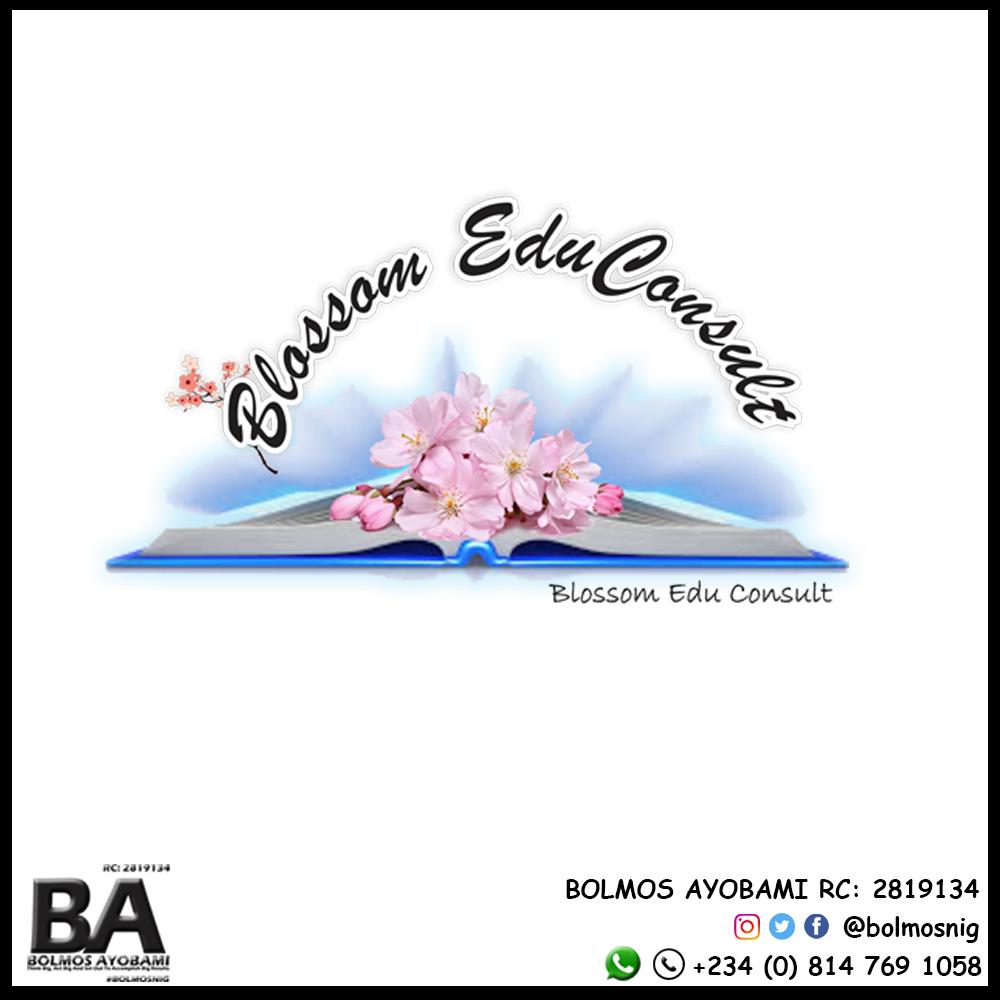 Blossom EduConsult Logo Design