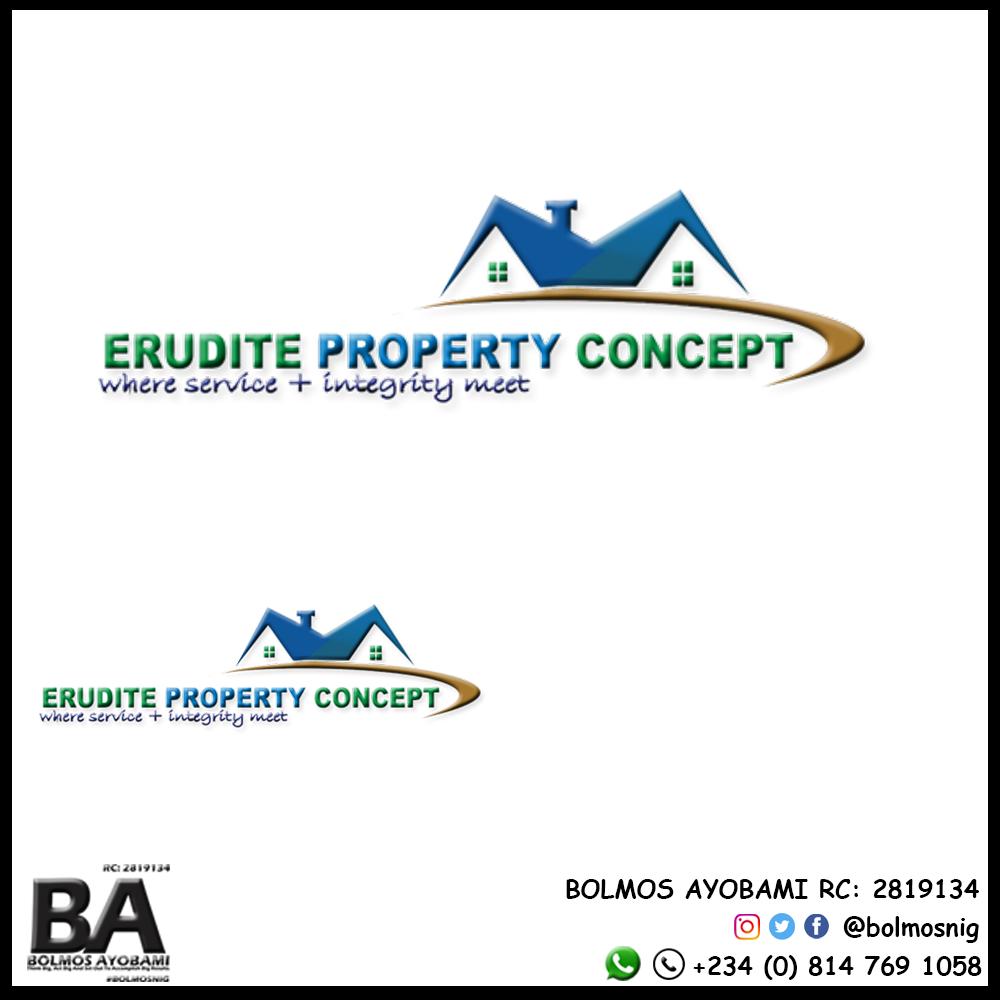 Erudite Property Concept Logo Design