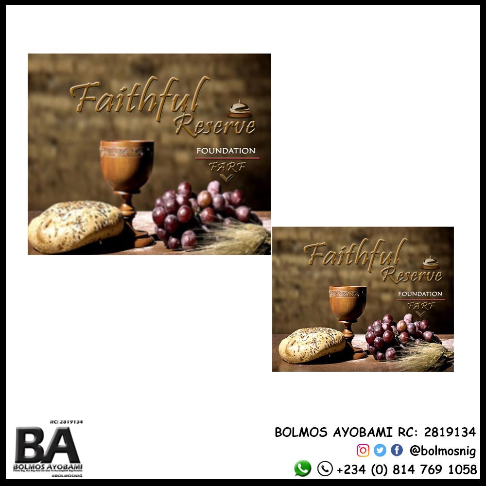 Faithful Reserve Foundation Logo Design