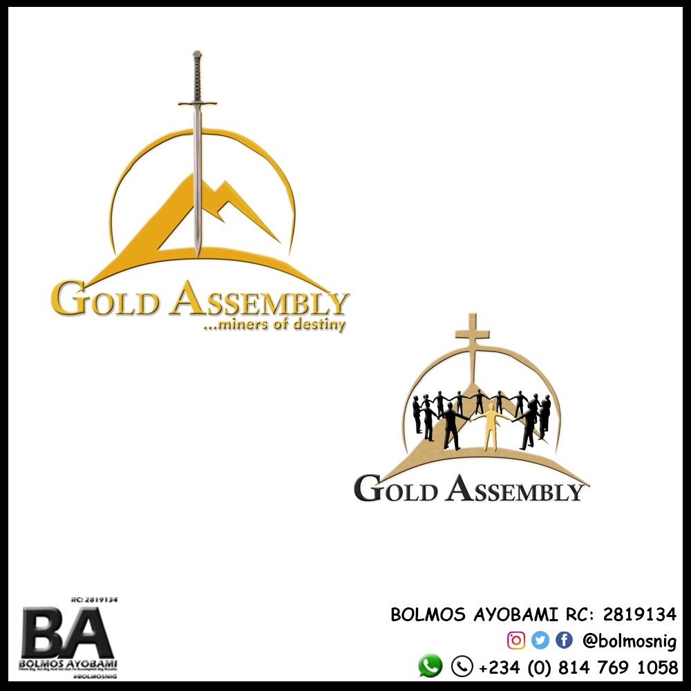 Gold Assembly Logo Design