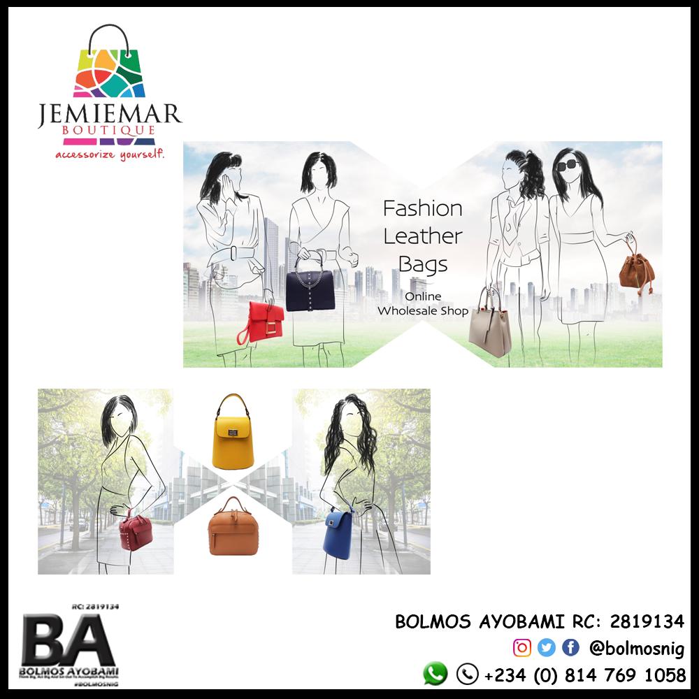 Jemiemar Boutique Logo and Slider Design