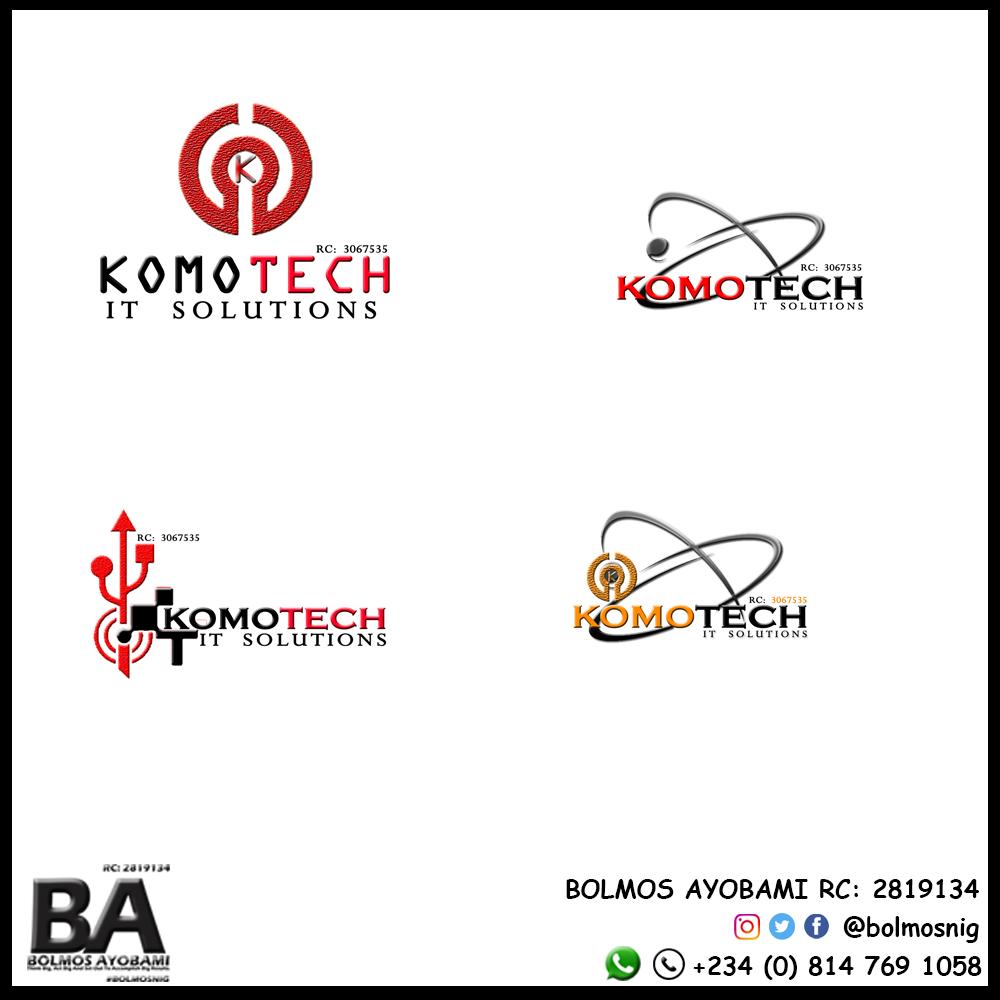 Komotech IT Solution Logo Design