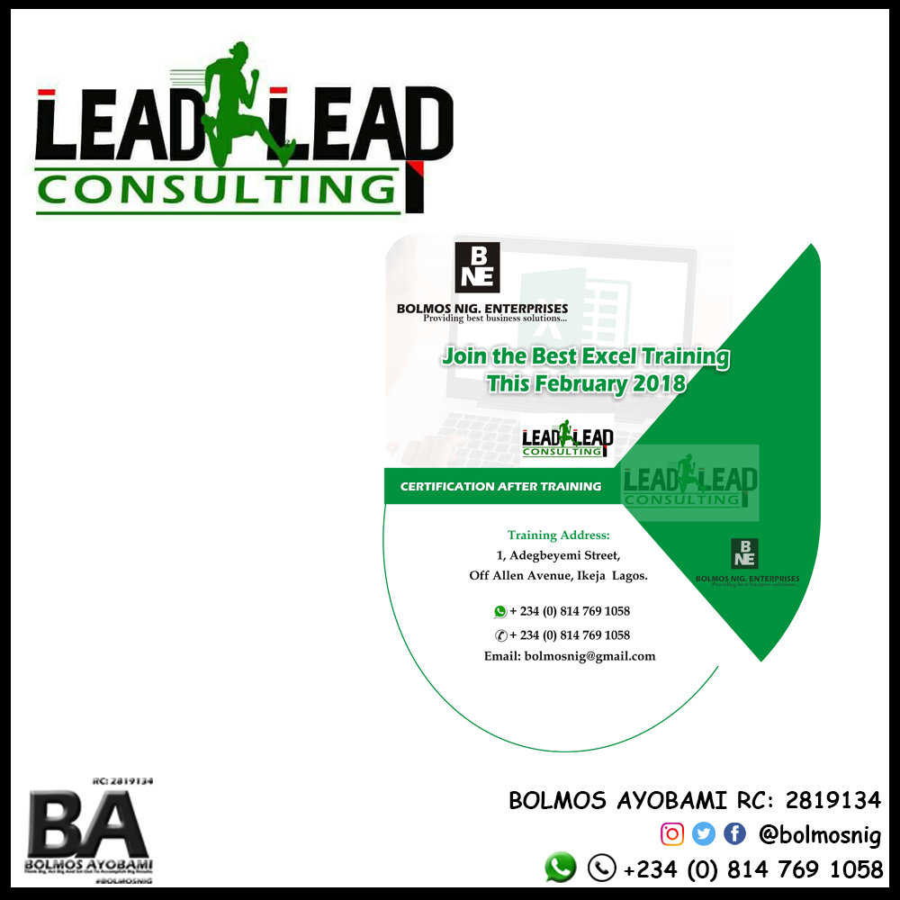 Lead Leap Consult Logo and Ads Design