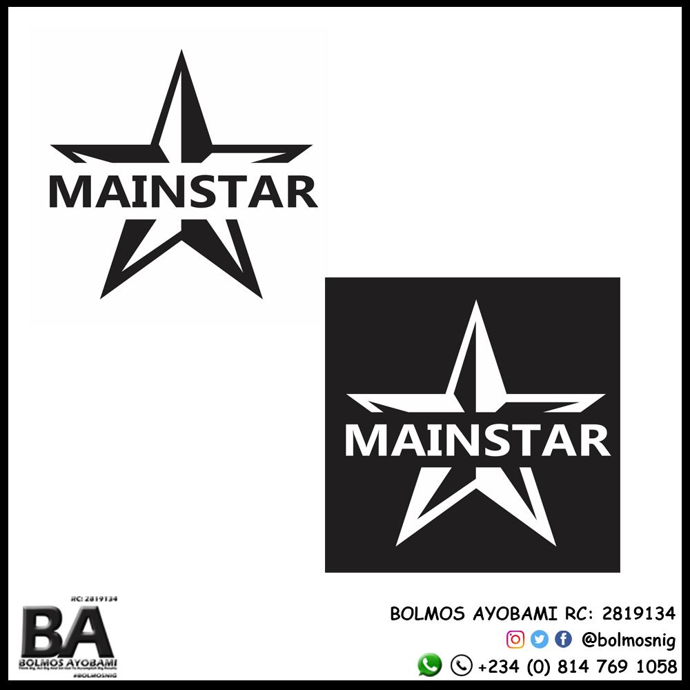 Main Star Logo Design