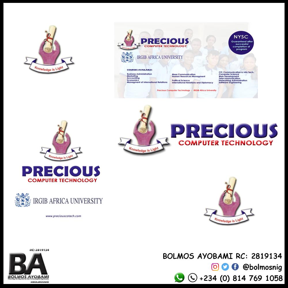 Precious Comp Logo Designs