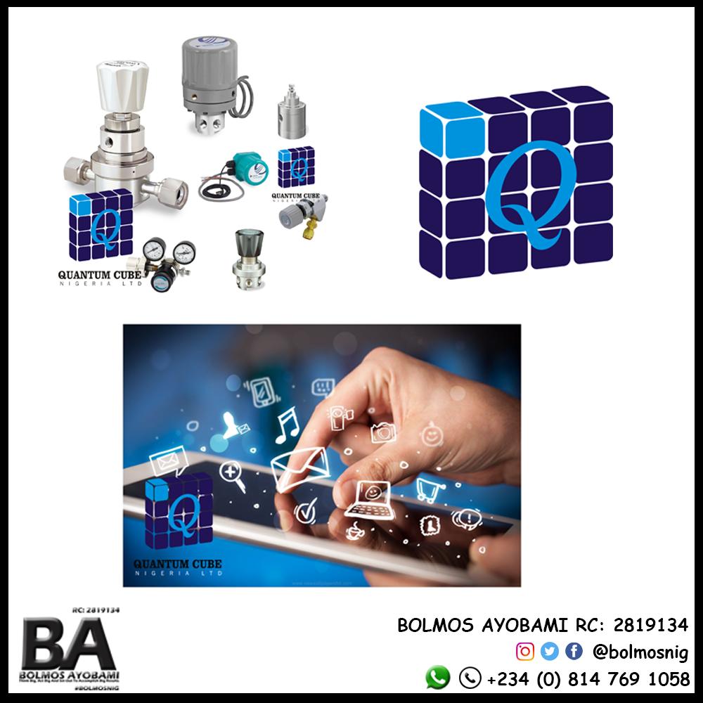 Quantum Cube Logo and Designs