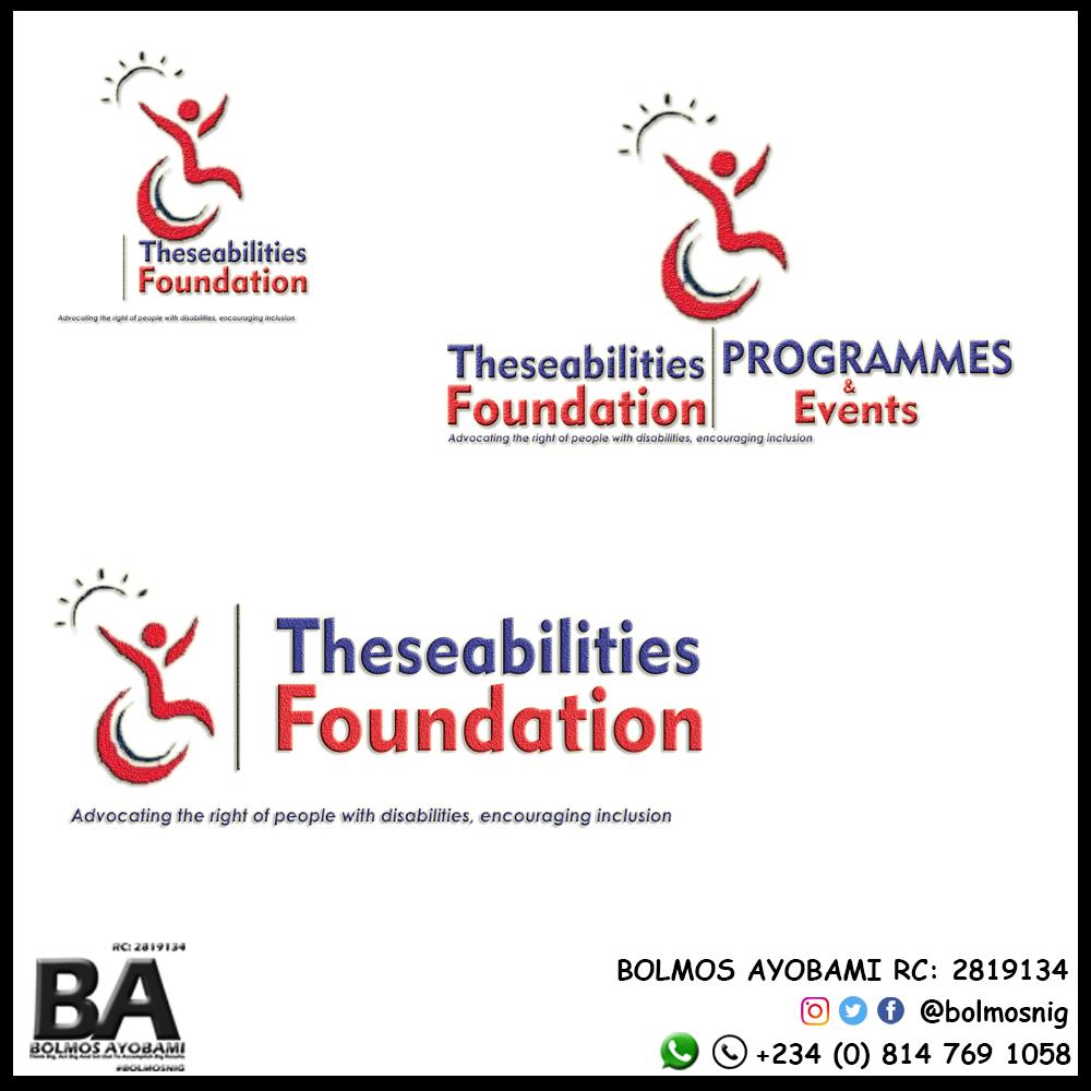 TheseAbilities F Logo Design